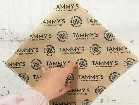 tammy's chicken in waffles.