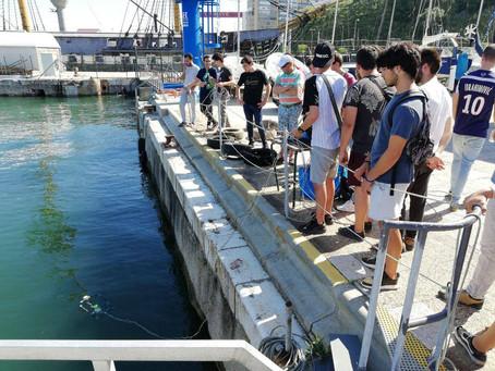 CNA participa em ensaio de veículos subaquáticos