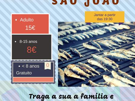 Jantar-convívio de S.João