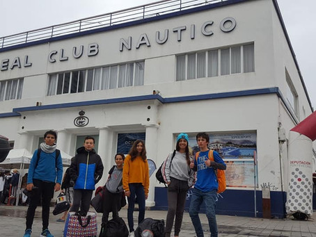 Atletas do CNA na XIX Semana del Atlántico Ciudad de Vigo