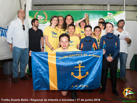 CNA sagrou-se Campeão Regional de Infantis e Iniciados por Equipas!