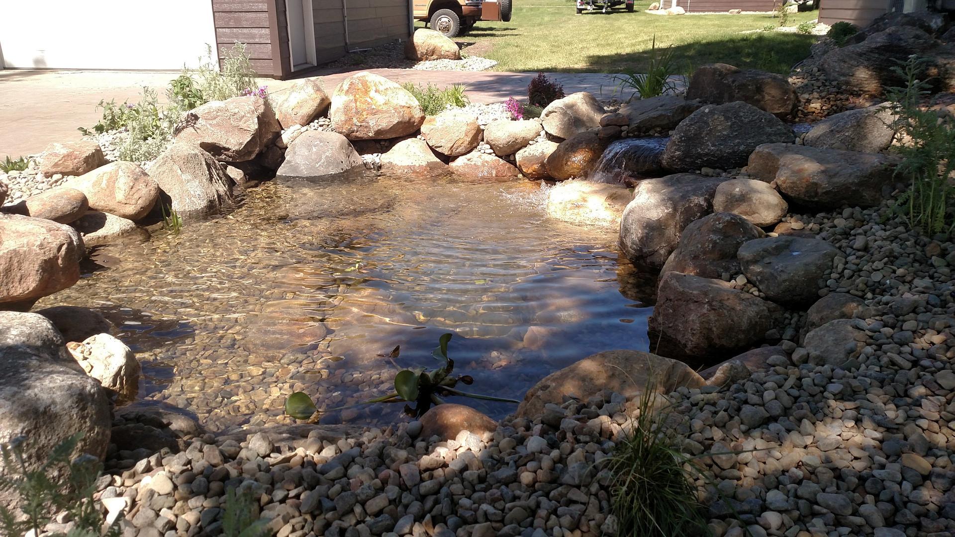 Landscape & Water Feature