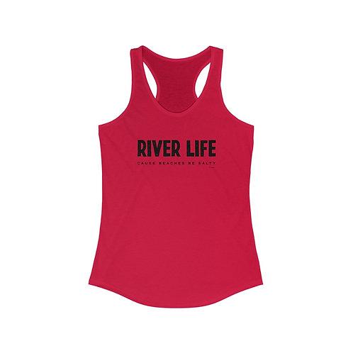 River Life Racerback Tank