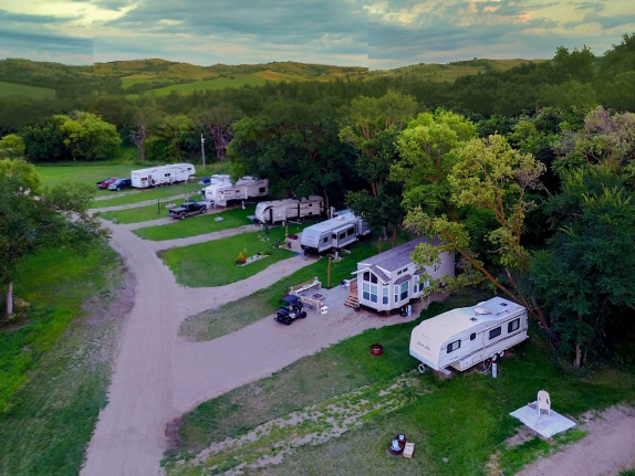 Permanent Campsites Popular, Local Businesses Continue to Expand