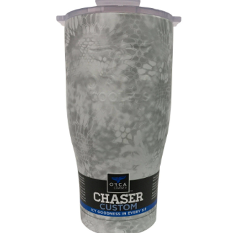 Orca Kryptek Snow 27oz Chaser White