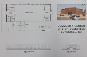 City of Bonesteel Requests Public Input on Proposed Community Center