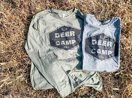 deer camp tee