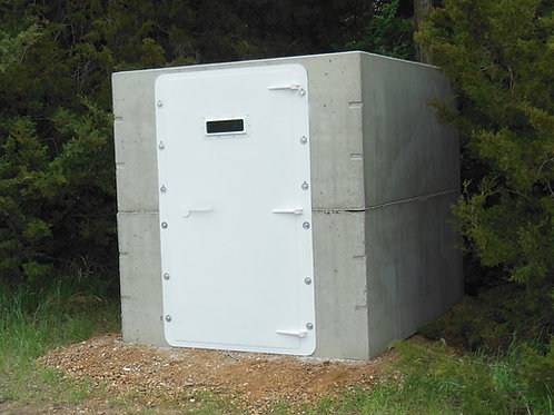 Walk In Storm Shelter