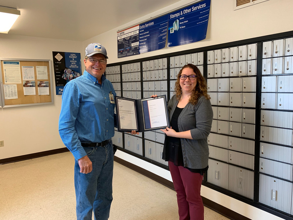 Dewey Ludemann Retires from 35 Years at the US Postal Service