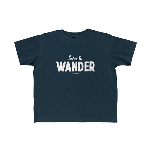 Born to Wander Toddler Tee