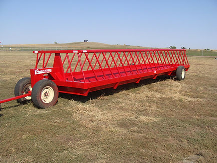 30 ft Feed Wagon