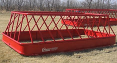 two bale feeder