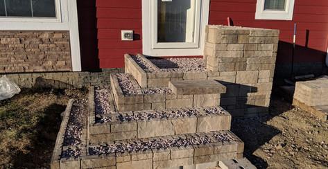 Patio, Steps, Landscape