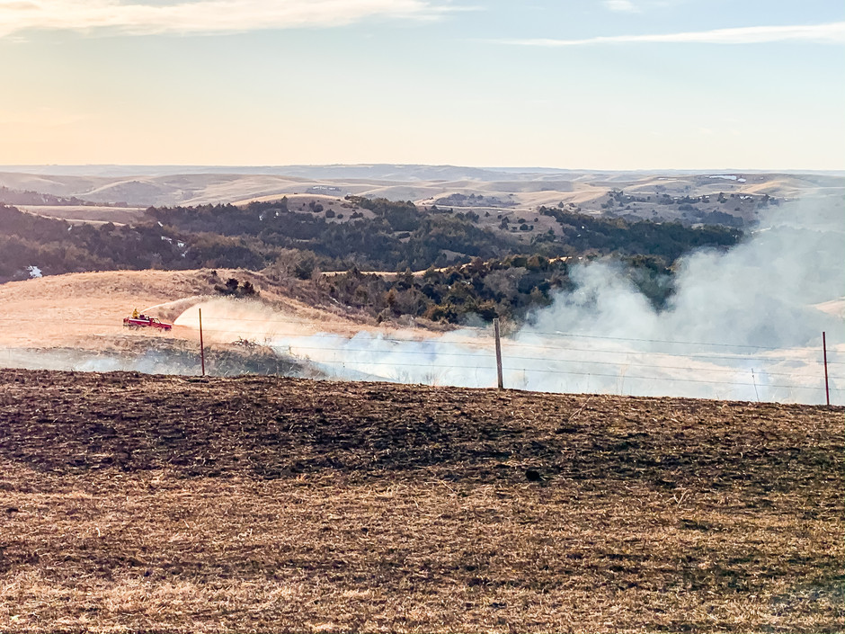 Controlled Burn Quickly Turns to Wildfire North of Bonesteel