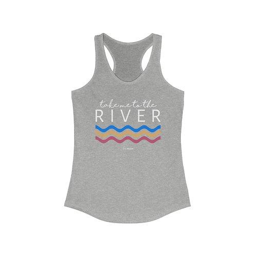 Take Me to the River Racerback Tank