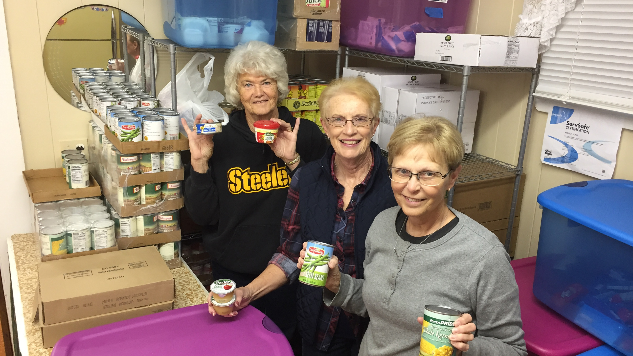 Another successful year for the South Central Backpack Program.   Program coordinators are Dolly Spitzenberger, Jeanne Applebee and Connie Schmitz.