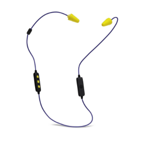 Plugfones PL-UY Liberate 2.0 Wireless Bluetooth Earphone Blue Yellow