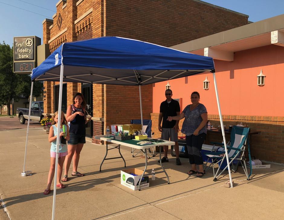 Customer Appreciation Night Block Party Held on Main Street