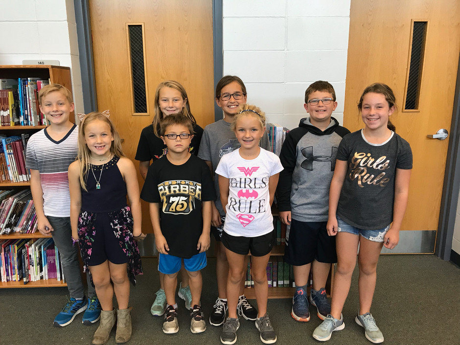 South Central Elementary Student Council Chosen