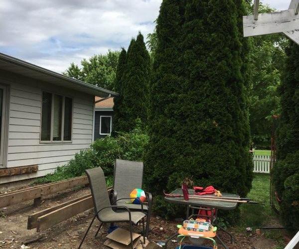 Paver Patio, Deck & Landscaping