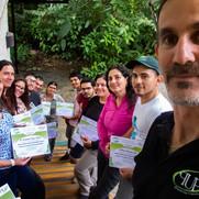 Curso elaboración de temas para interpretación ambiental en Tirimbina