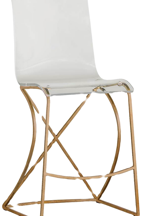 Johnson Counter Stool Gold