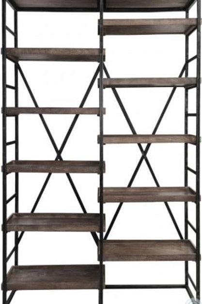 Evan Gray Double Bookshelf