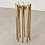 Thumbnail: AQUILO ACCENT TABLE, ANTIQUE BRASS