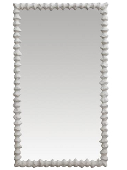 Clyde Frost White Mirror