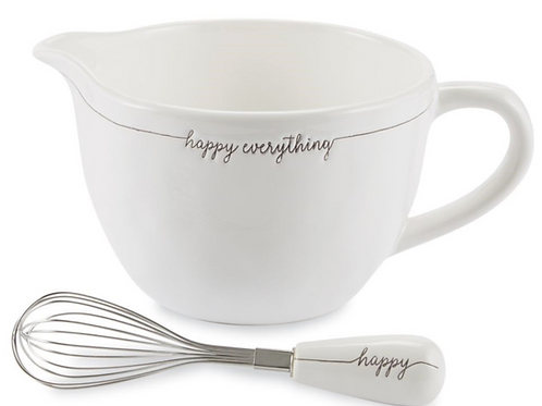 Happy Everything Ceramic Mixing Bowl