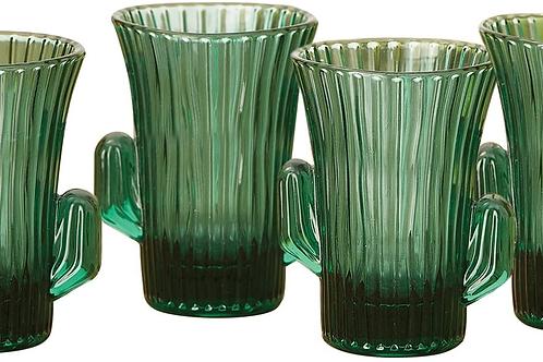 CACTUS SHOT GLASSES SET OF 4