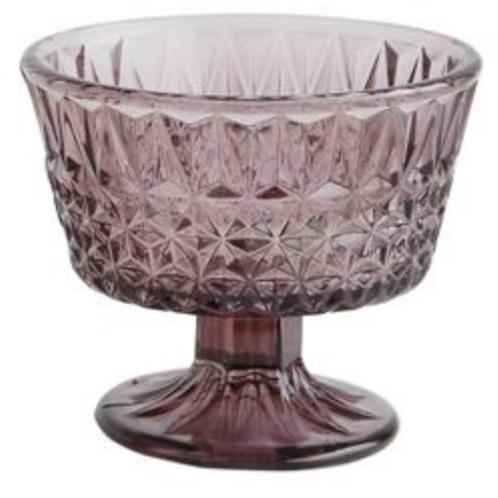 Glass Votive Holder/Footed Bowl