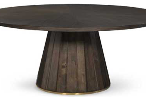 Accolade Walnut Round Table