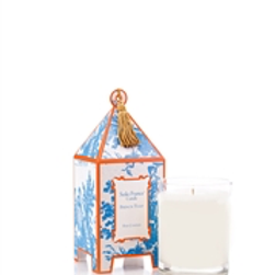 French Tulip Classic Toile Mini Pagoda Box Candle
