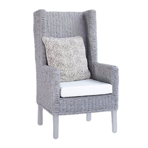 King Coastal Chair in Abaca