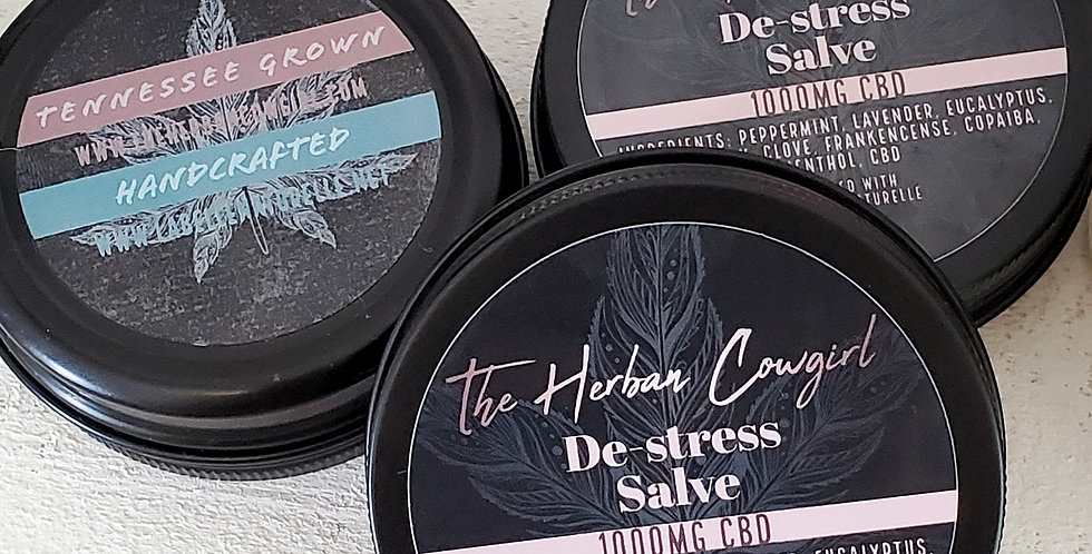 De-Stress Salve - CBD Infused