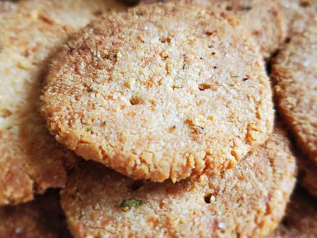 Cheese & Ranch Crackers (Keto friendly)