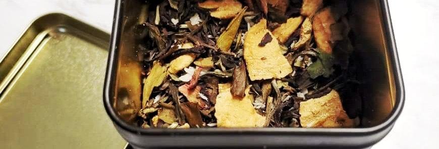 White Coconut & Citrus Drinkable Tea