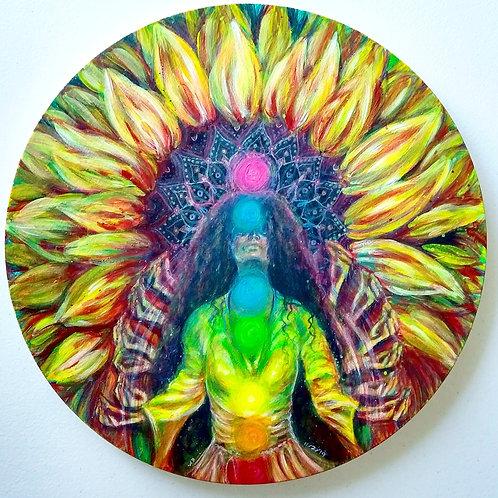 "Original ""Sun Goddess"" Painting"