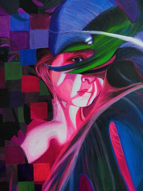 "Original ""Monachopsis"" Painting"