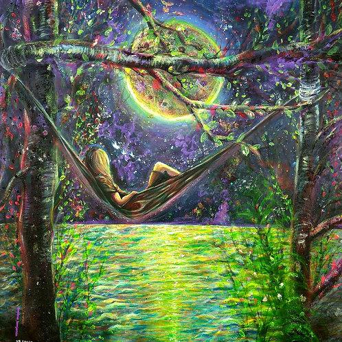 """Original """"Equilibrium"""" Painting"""