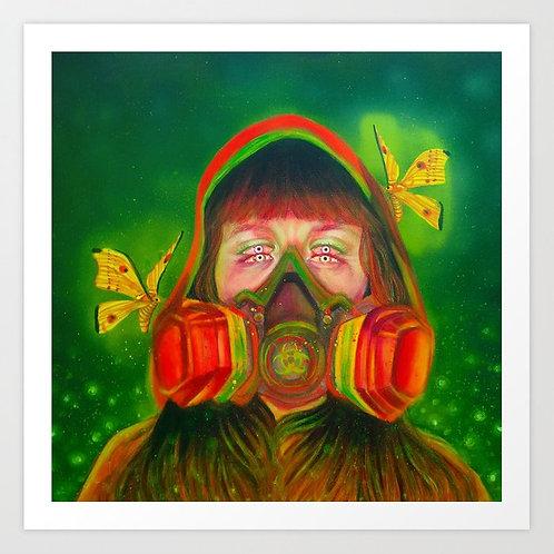 Toxic Radiation Print