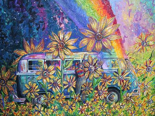 "Original ""Retro Trip"" Painting"