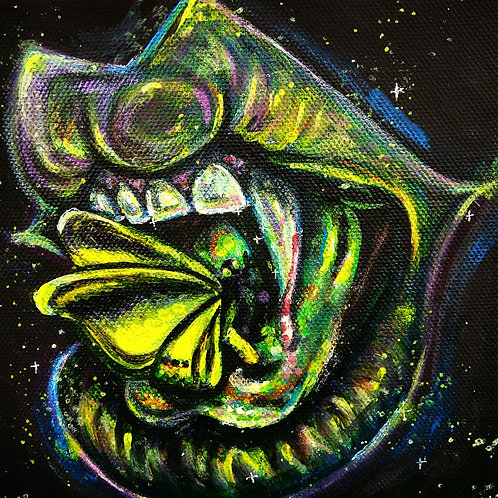 """Original """"Cursed"""" Painting"""