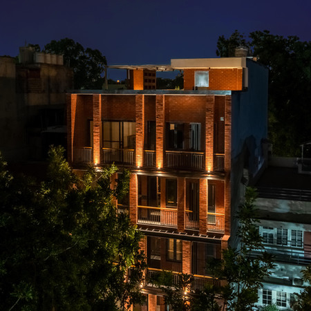 Off Grid House, New Delhi
