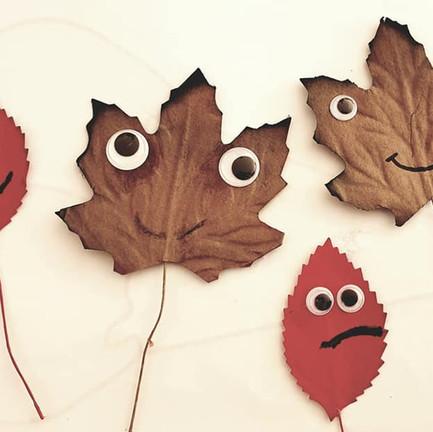 Leaf arts & crafts