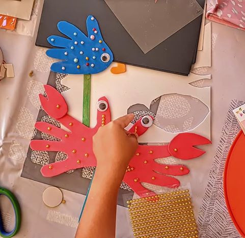 Toddler Group arts & crafts