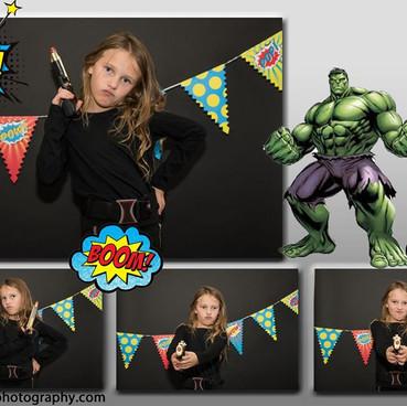 Super Hero Fun Booth