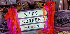 Kids Corner sign
