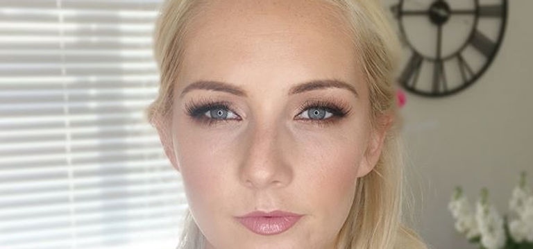 Makeup on the beautiful Steph today goin